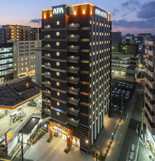 アパホテル<博多東比恵駅前>2020年2月7日開業予定