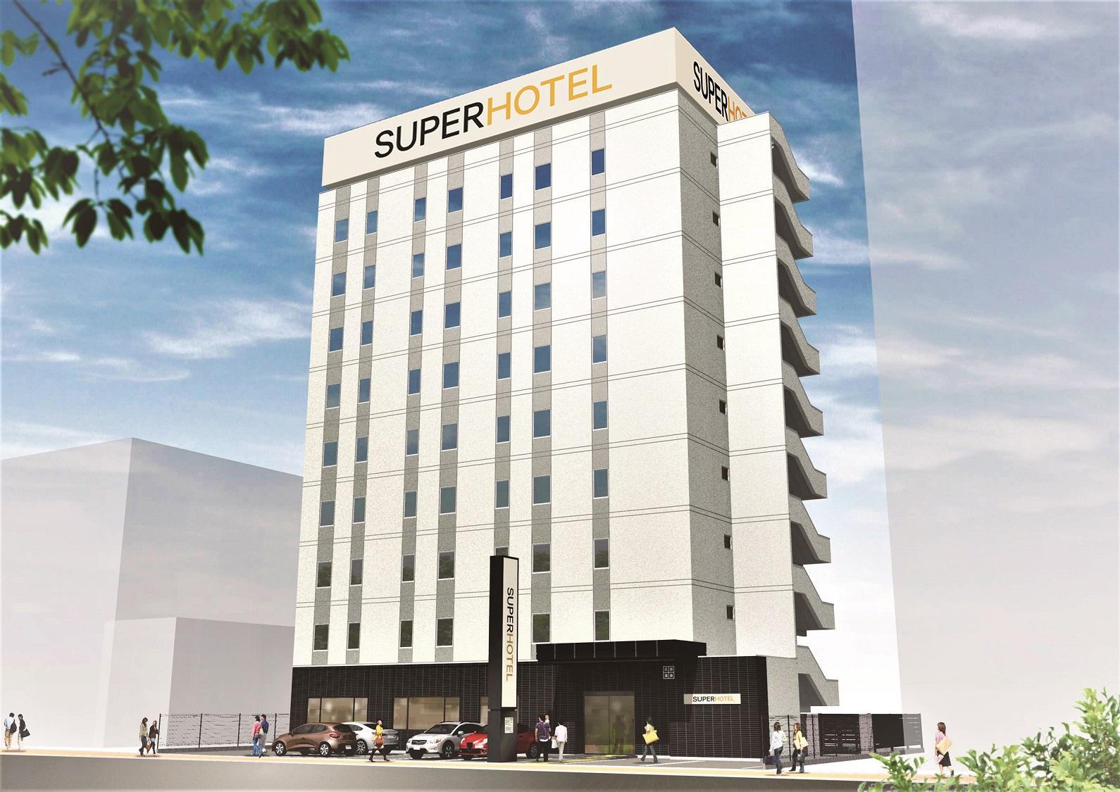 スーパーホテル岡山駅東口 天然温泉「備前の湯」(2020年4月25日オープン)