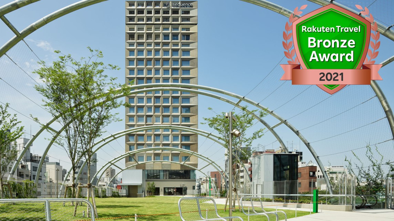 sequence MIYASHITA PARK(2020/6/11開業)の建物外観