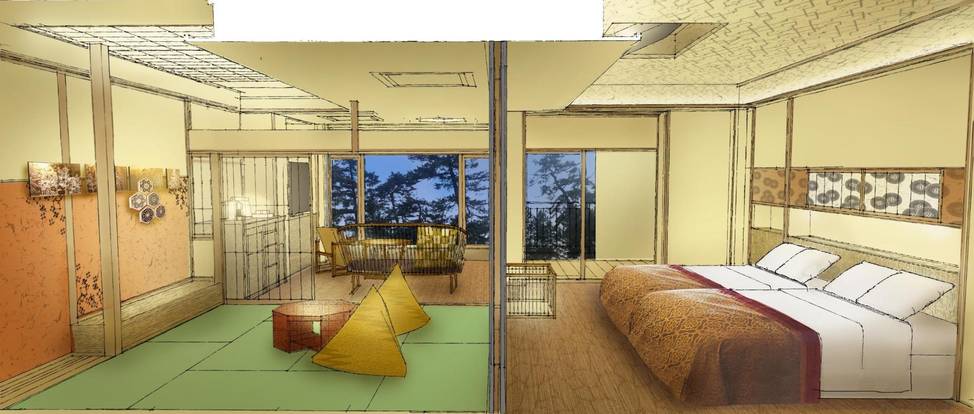 愛犬と泊まる湖畔の温泉リゾート びわ湖松の浦別邸(2020年6月20日オープン) 画像