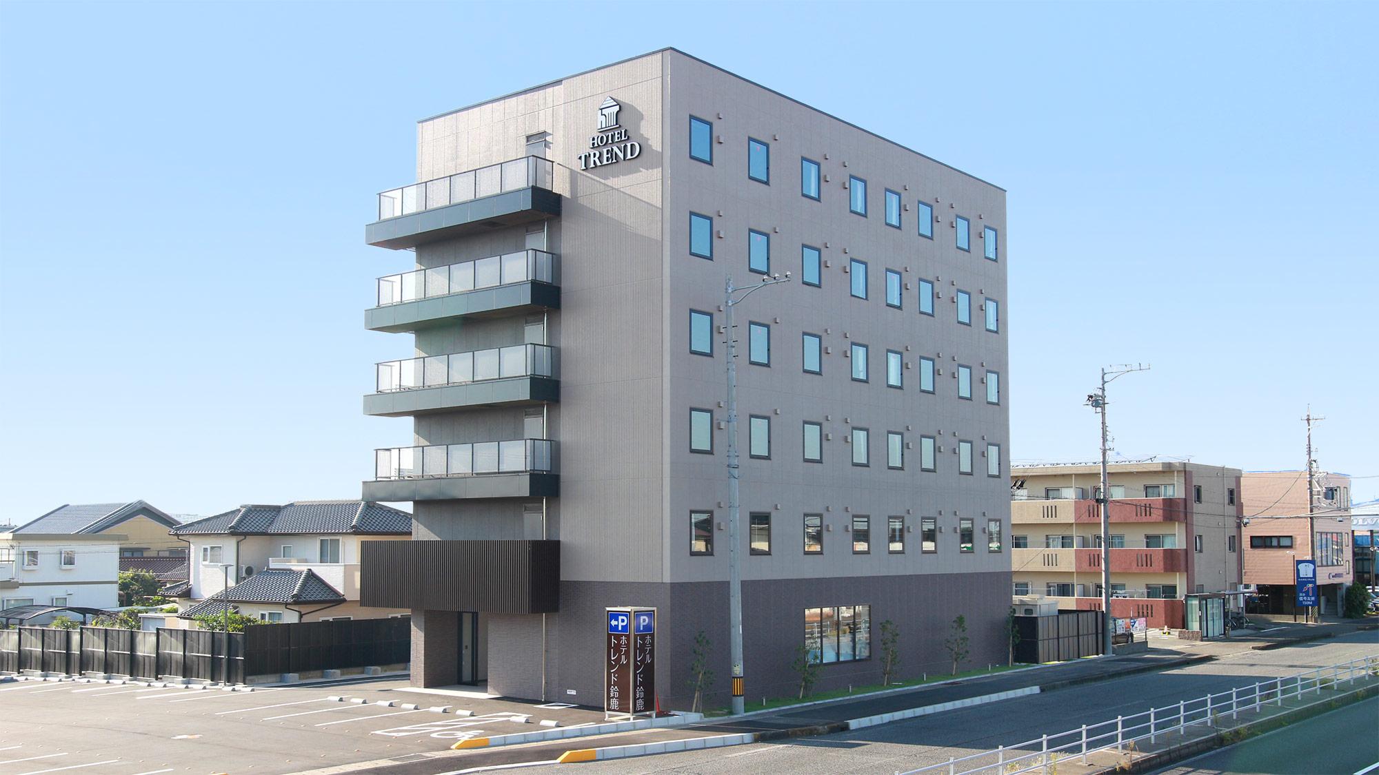 ホテルトレンド鈴鹿(2020年10月30日新築オープン)