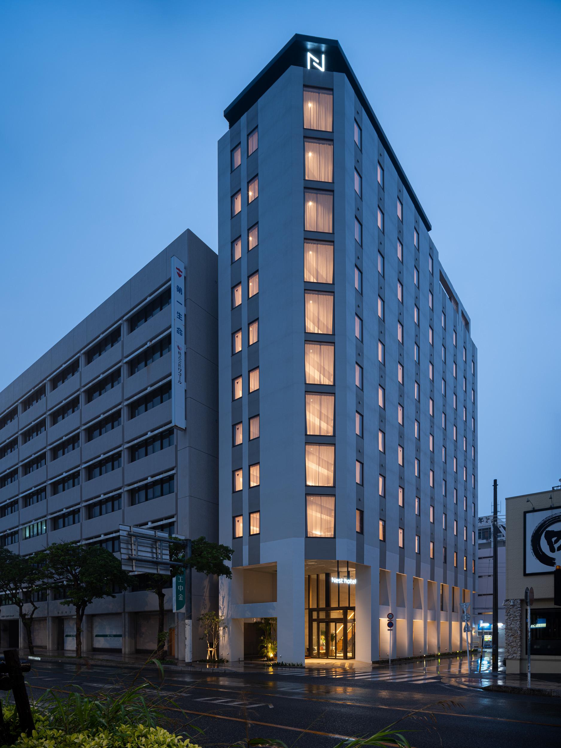 ネストホテル那覇久茂地(2021年4月1日オープン)
