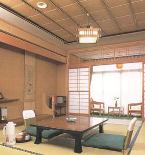 野沢温泉 清風館の客室の写真