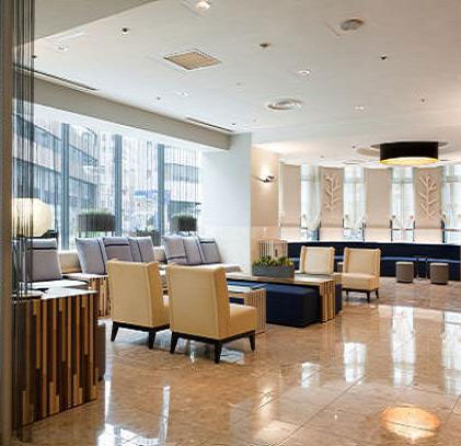 名古屋駅前モンブランホテルの客室の写真