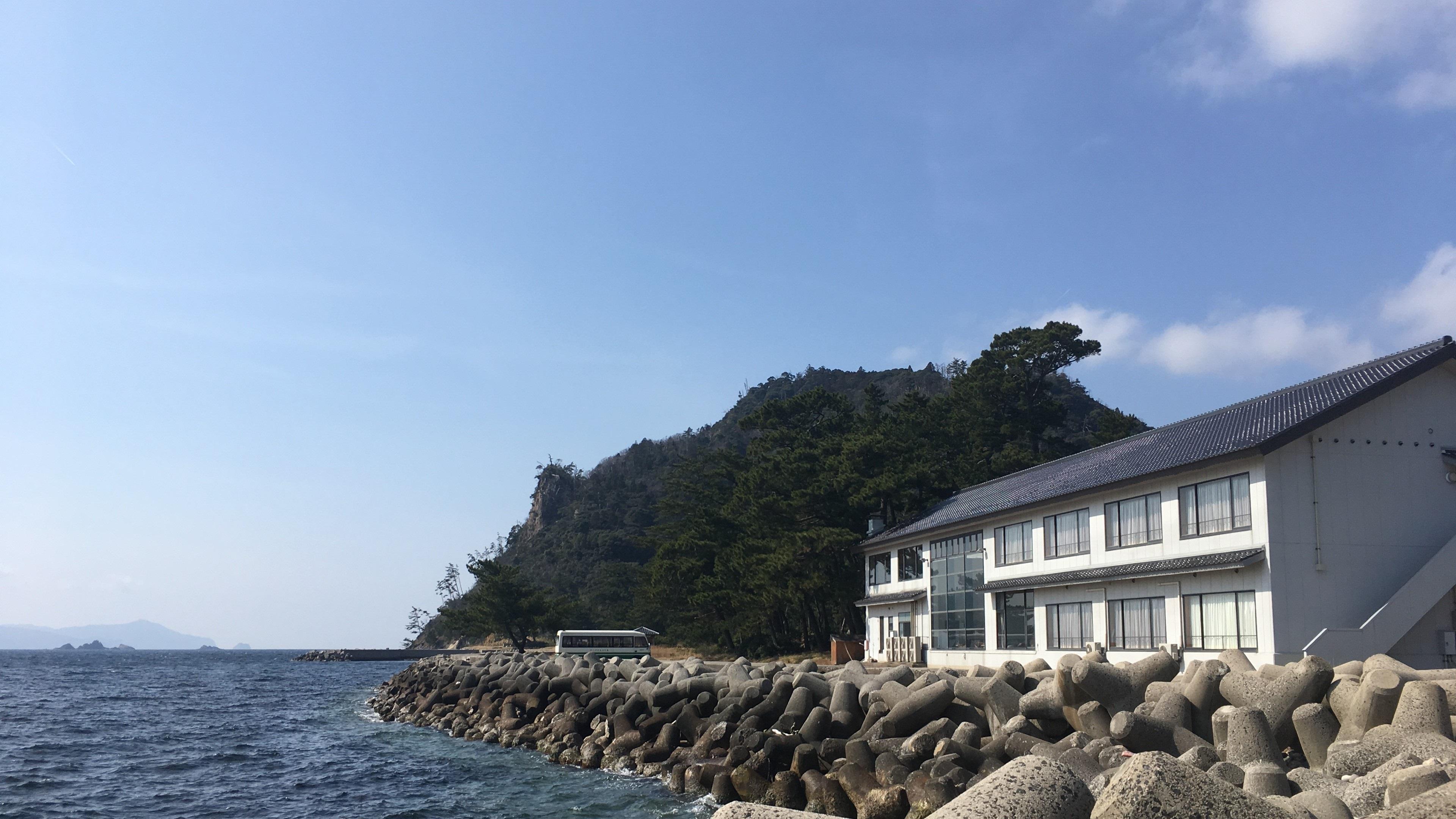 島のひかりが彩なす海の宿 羽衣荘<隠岐諸島> その1