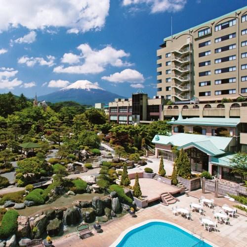 ホテル鐘山苑 外観