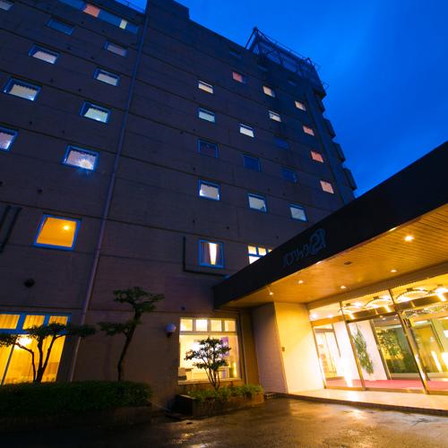 ホテルパブリック21 夕食&朝食が無料サービス!
