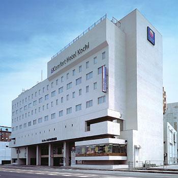 高知市内のアクセスの良いホテル