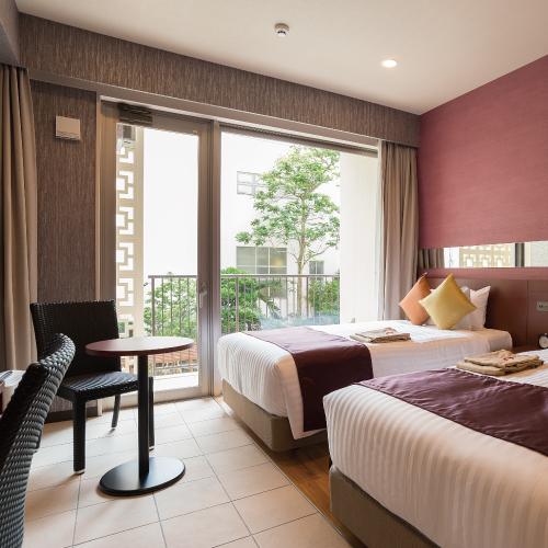 COMMUNITY&SPA 那覇セントラルホテルの客室の写真