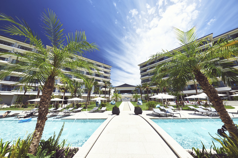 南の島の素敵なリゾートホテル