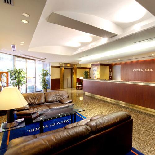 渋谷クレストンホテルの室内