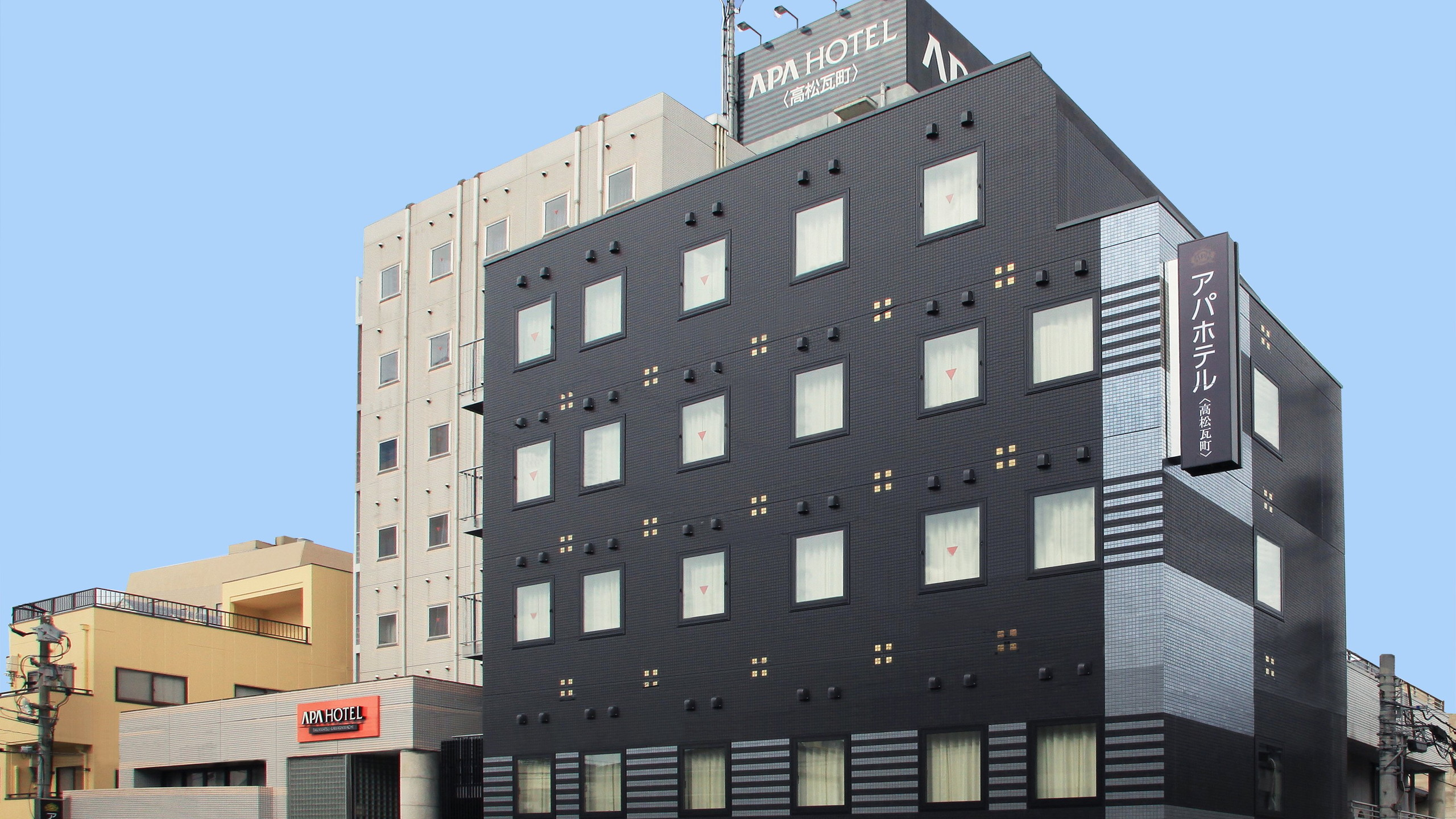 アパホテル<高松瓦町>...