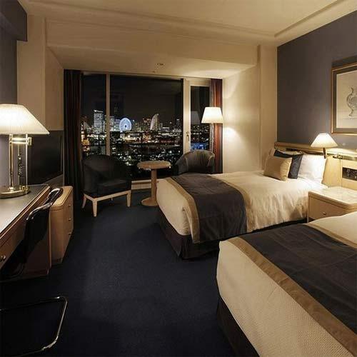 ホテルニューグランドの客室の写真