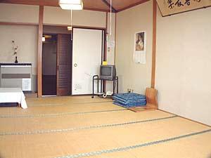 客室例:和室(1〜2人部屋)