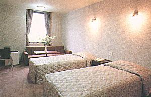 ホテルやまびこの客室の写真