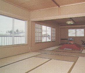 かどや旅館<新潟県>の客室の写真