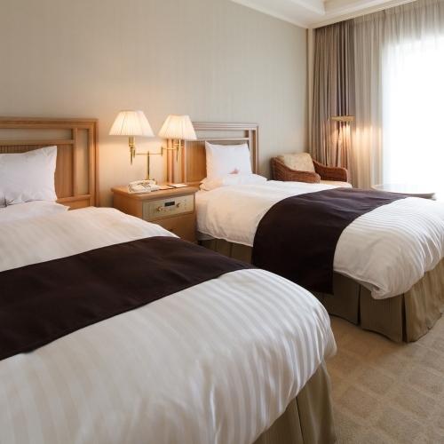 オークラアカデミアパークホテルの客室の写真