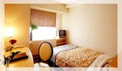 ダイヤモンドホテルの客室の写真