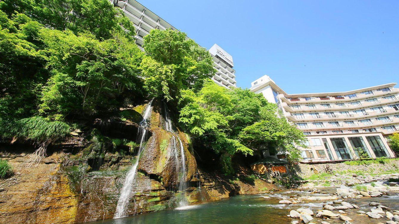塩原温泉で和室に泊まり、バイキング食の温泉ホテルを教えて