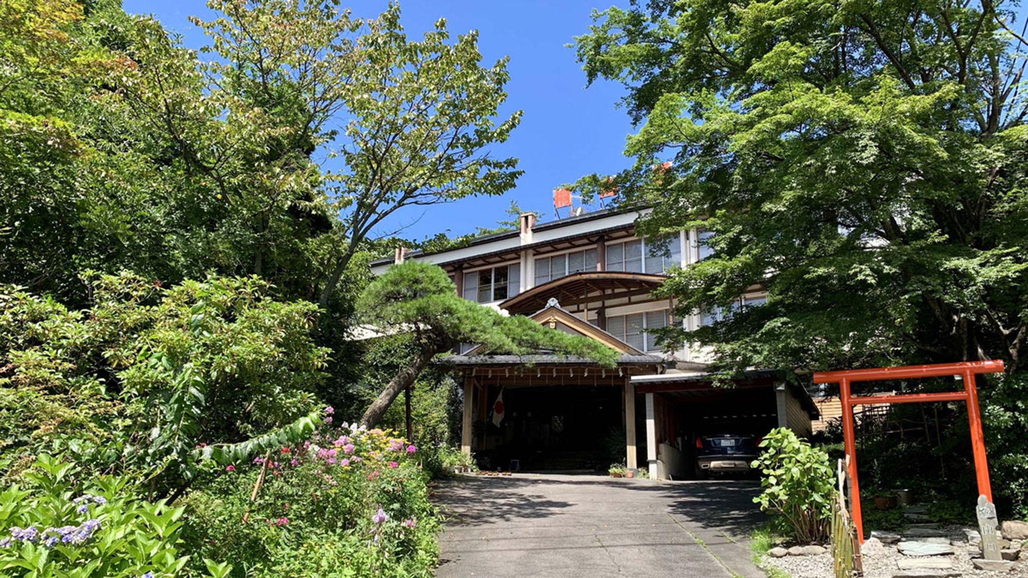草津温泉 尻焼き風呂の桐島屋旅館