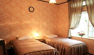 オーベルジュ・ラ・カンパーニュの客室の写真