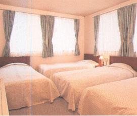 ペンション ハーフタイムの客室の写真