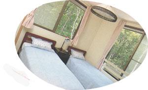 ペンション タイムリーの客室の写真