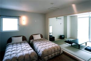 老神温泉 洋風温泉旅館ハーベルハートの客室の写真