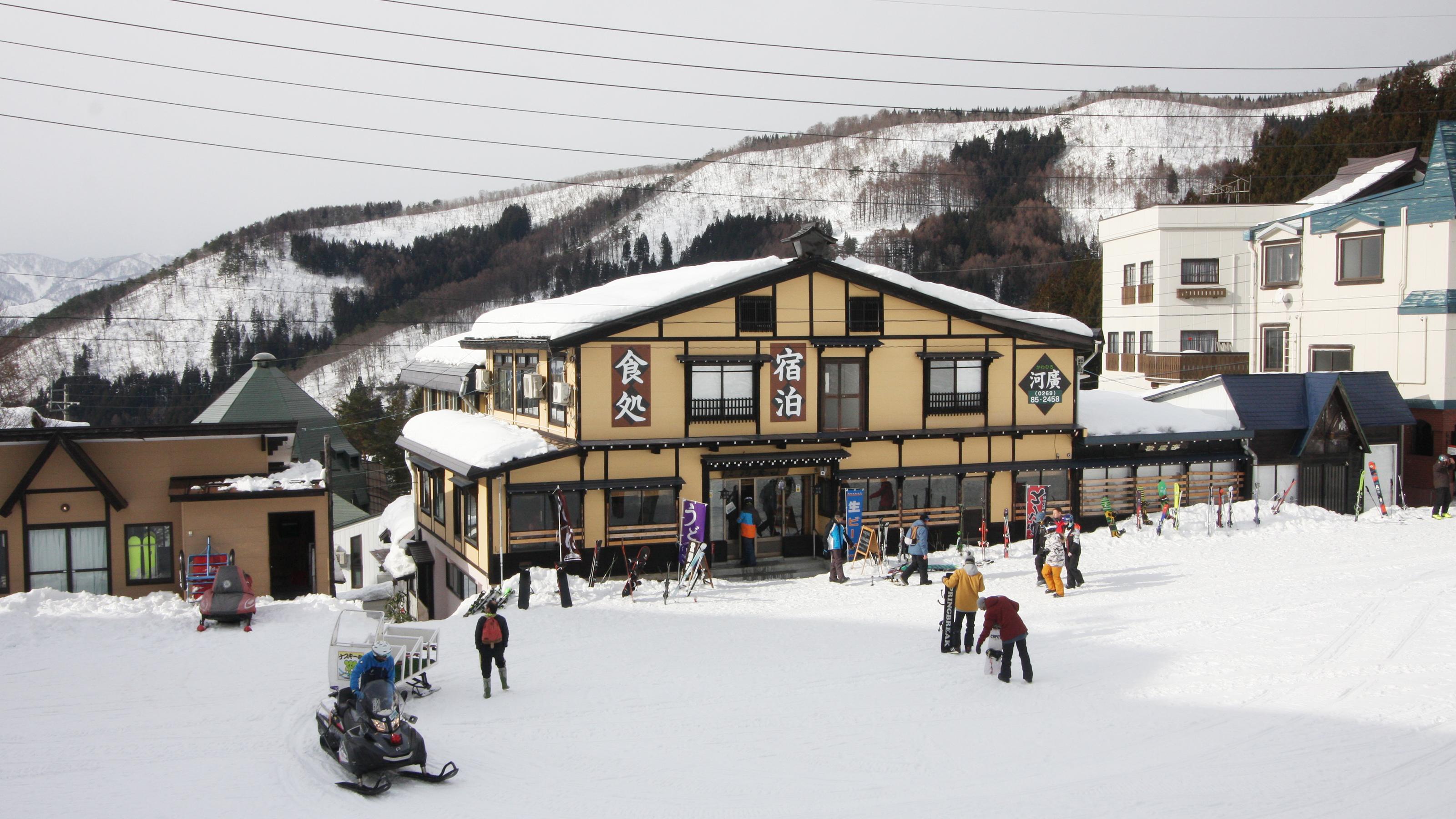 スノボツアー帰りに温泉に泊まりたいです!野沢温泉でおすすめの宿はありますか?