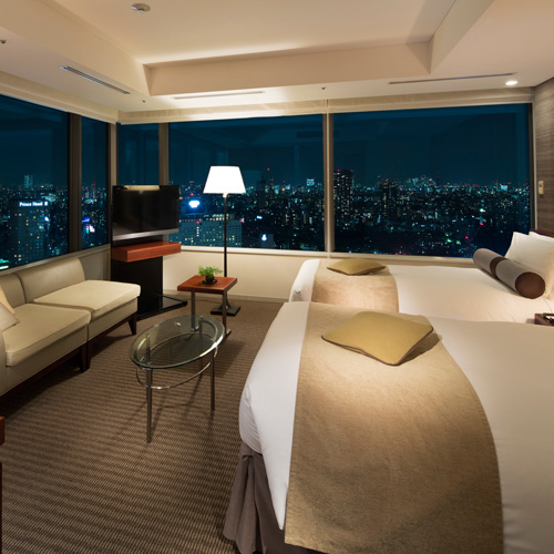 ストリングスホテル東京インターコンチネンタルの室内