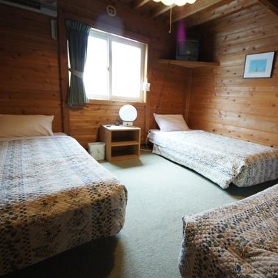 越後湯沢で最初のペンション ゲストハウス・バンヌッフの客室の写真