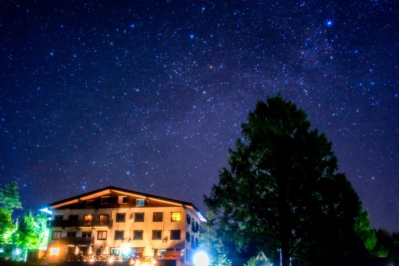 星降る高原の小さなホテル 栂池高原 白馬ベルグハウス