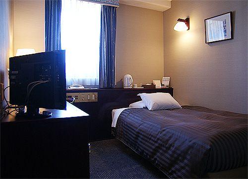 久留米ステーションホテルの客室の写真