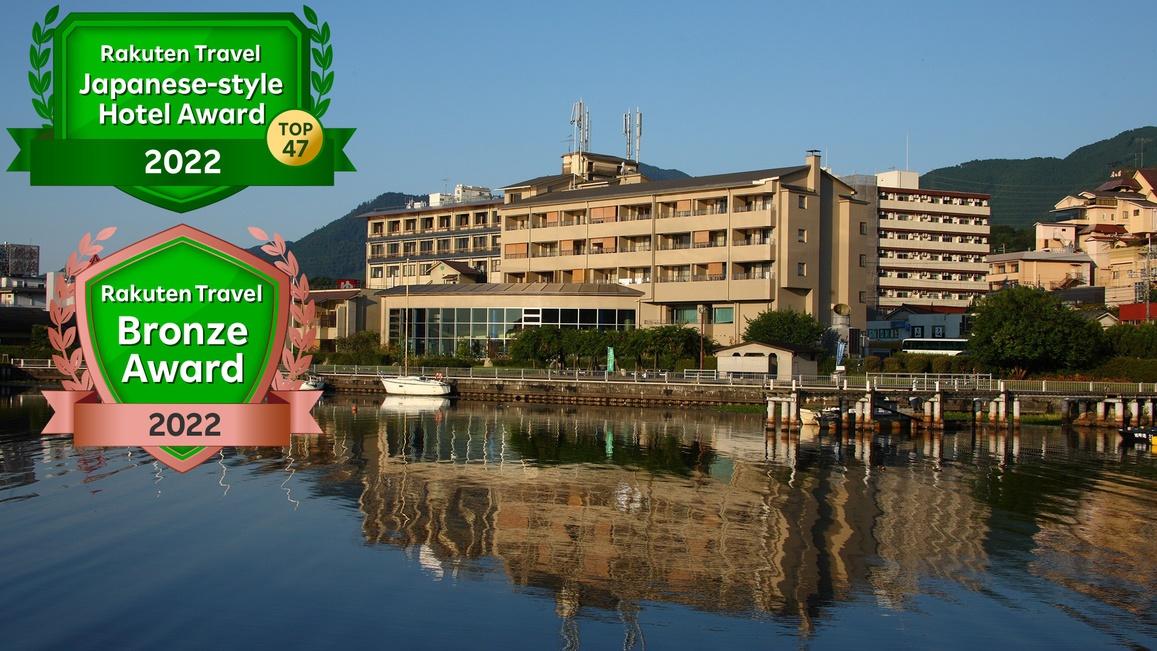 滋賀県で琵琶湖と温泉を