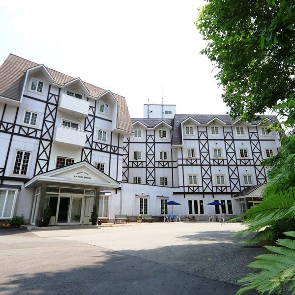 リゾートホテルラ・フォーレ白馬の外観