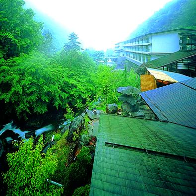 横谷温泉旅館の外観
