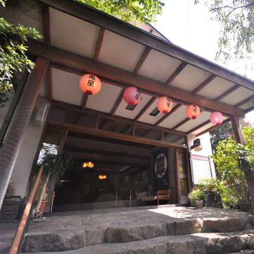 湯河原温泉 亀屋旅館<神奈川県> その1