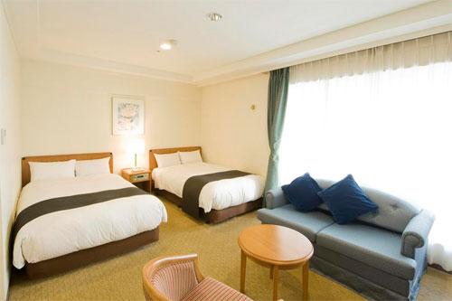 ホテルトラスティ名古屋白川の客室の写真