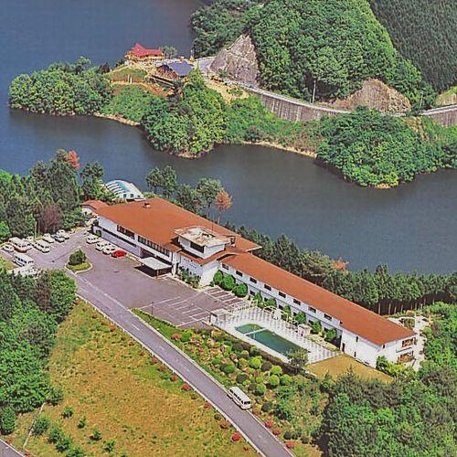 香落渓温泉 名香の湯 展望露天風呂 青蓮寺レークホテル