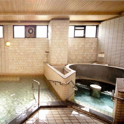 信州湯田中温泉 大浴場 ホテルゆだなか 画像