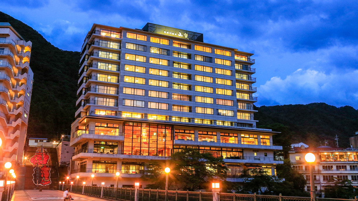 鬼怒川温泉で贅沢な気分が味わえる高級旅館をおしえてください