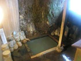 肘折温泉 手掘り洞窟温泉 松屋 画像