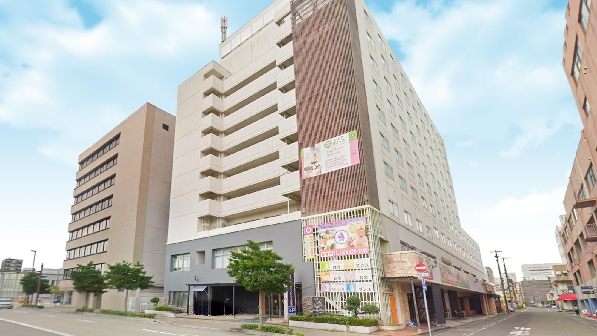 【ネットができる宿|姫路城へ】ホテルクラウンヒルズ姫路