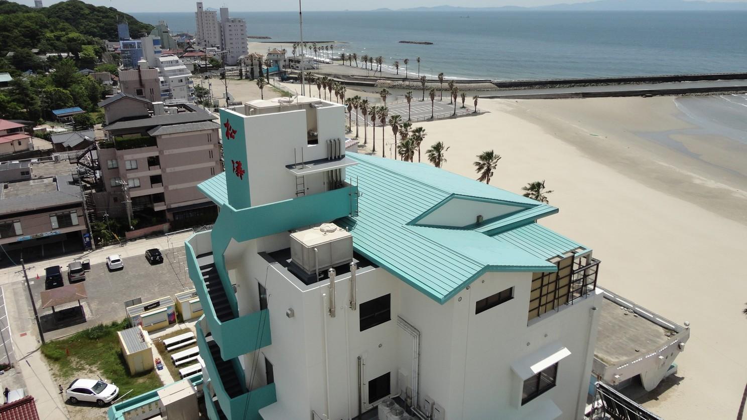 内海温泉 浜辺のホテル 松涛 その1