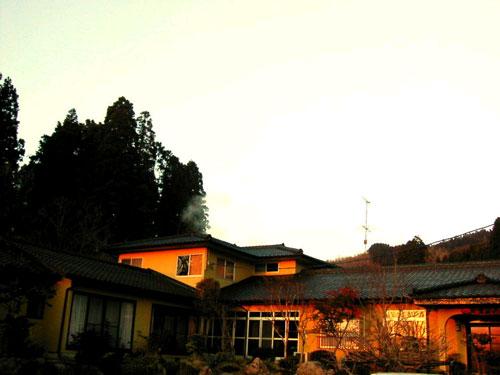 岳の湯温泉 友愛山荘の外観
