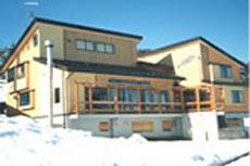 大雪 ロッジ