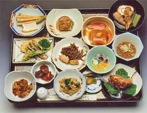 羽黒山精進料理と地元の旬の味覚♪2食付 <和室6畳>