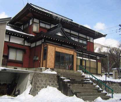 新雪旅館の外観