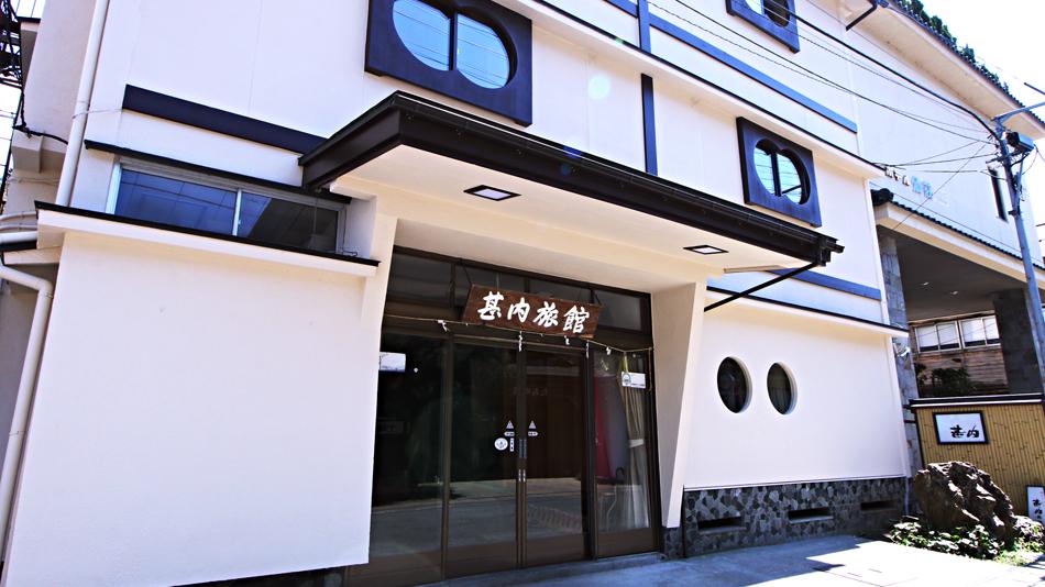 湯田川温泉 甚内旅館の外観
