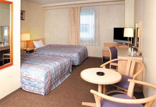 いわきプリンスホテルの客室の写真